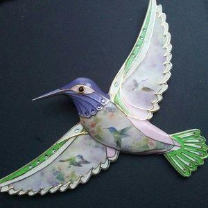 Hummingbird Art by Lena Lui
